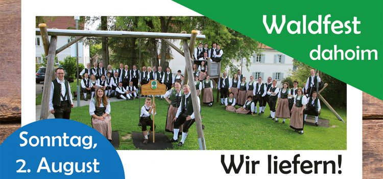 Waldfest 2020 Banner